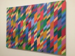 Bridget Riley painting from the Tate Modern