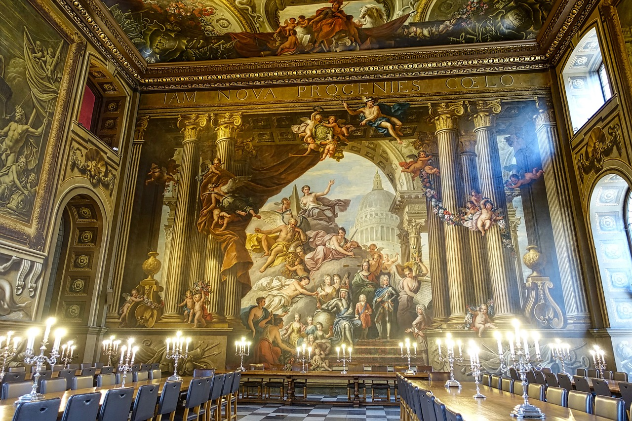 Painted hall in Greenwich, London